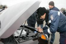 В Кременчуге на ул. Киевская задержан автомобиль-двойник