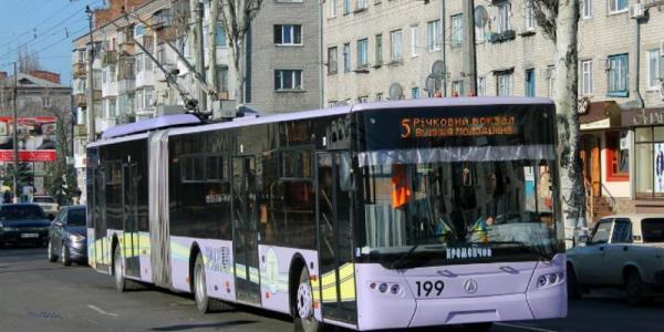 В начале 11-ого возобновится движение троллейбусов №1, 2, 5