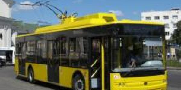 Троллейбусы №1, №2, №5 временно будут ходить по маршруту №3