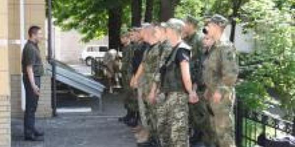 Кременчугские правоохранители отправились в зону АТО