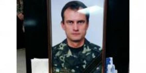 Кременчуг прощается с бойцом Олегом Куксой