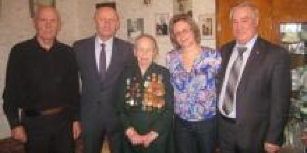 Боевая кременчужанка отметила свой 95-й день рождения
