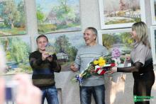 В Кременчуге открылась выставка картин конотопского художника Бориса Сердюка