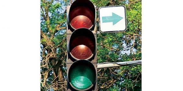 На перекрестках Кременчуга установят еще две «зеленые стрелки»