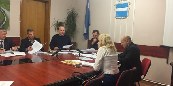 Заседание регламентной комиссии Кременчугского горисполкома 9 декабря 2016 г.