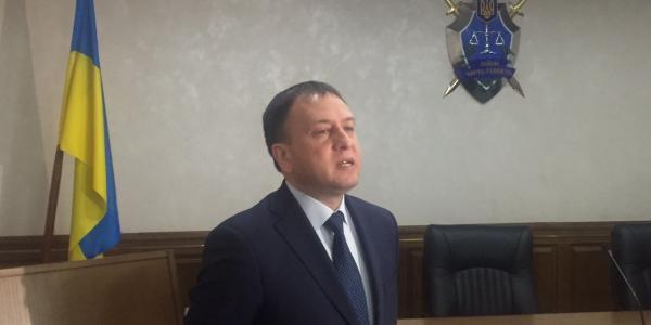Областной прокурор Полтавщины Николай Кармазин в Кременчуге