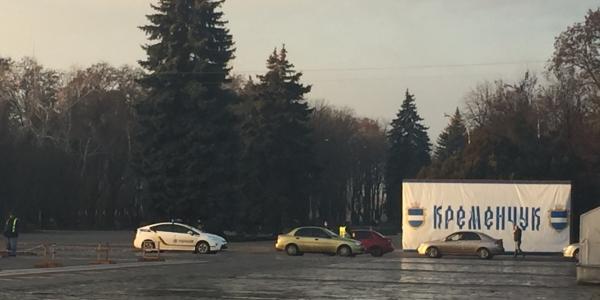 Полиция ловит в Кременчуге водителей под елкой