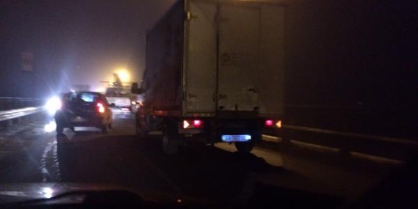 Мост начали ремонтировать с Крюкова