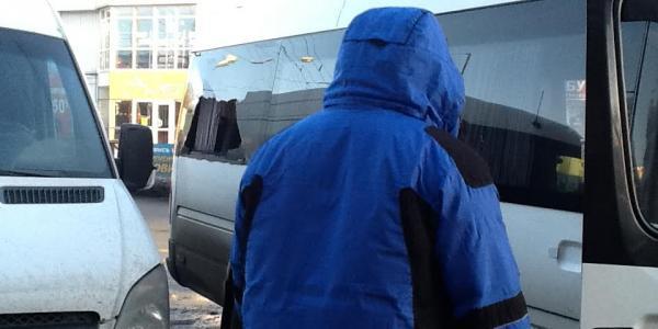 В Кременчуге столкнулись два Mercedes'a