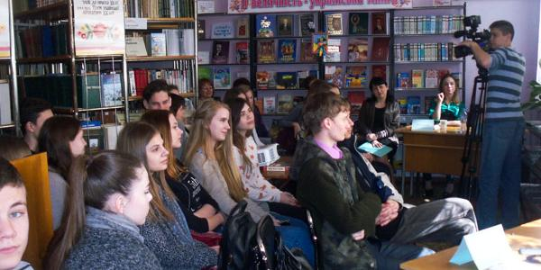 Кременчугские школьники узнали о работе, размером со вселенную