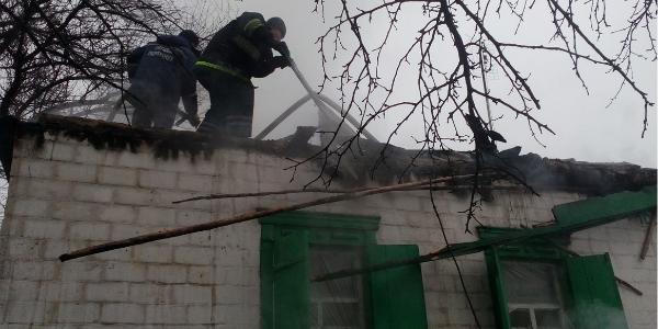 В Кременчугском районе дедушка лишился жилья