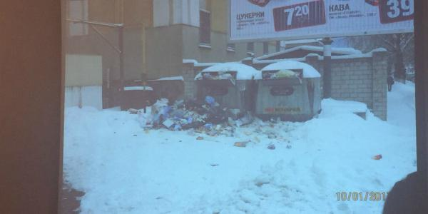В горисполкоме назвали тех, кто не чистил возле себя снег и был наказан