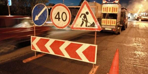На Крюковском мосту сегодня ночью будет трудно проехать