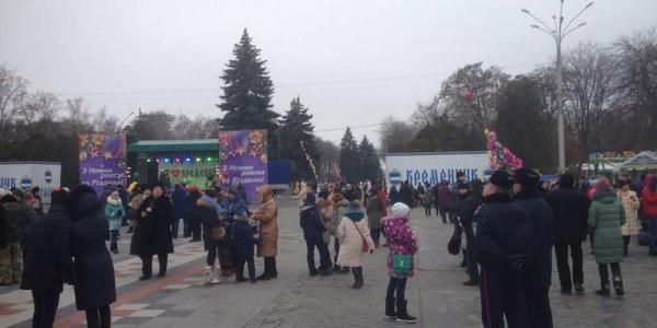 Кременчугские правоохранители перешли на усиленный режим работы