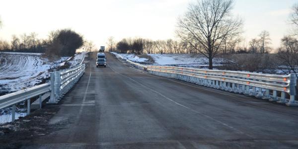 Губернатор Головко отчитался: часть дороги Кременчуг-Полтава капитально отремонтирована