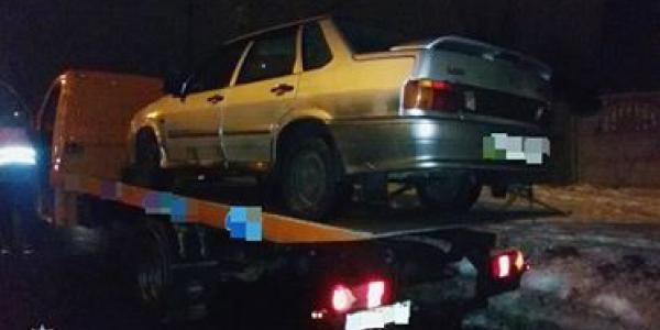 Водитель «под кайфом» рассекал по Кременчугу на Жигулях, находящихся в розыске
