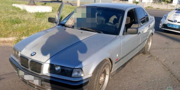У Кременчуці зупинили BMW з підробними документами