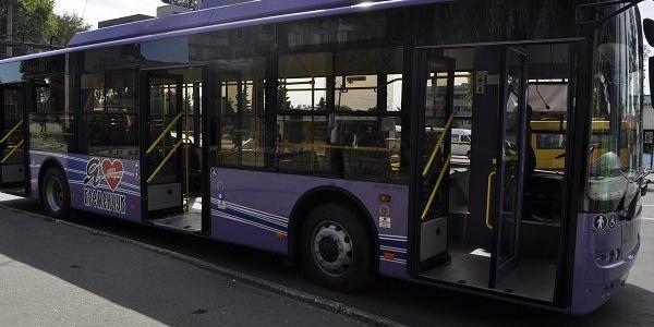 В Кременчуці тролейбуси тимчасово не доїжджатимуть до центру