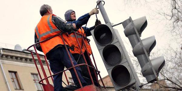 В нагорной части Кременчуга не работают светофоры