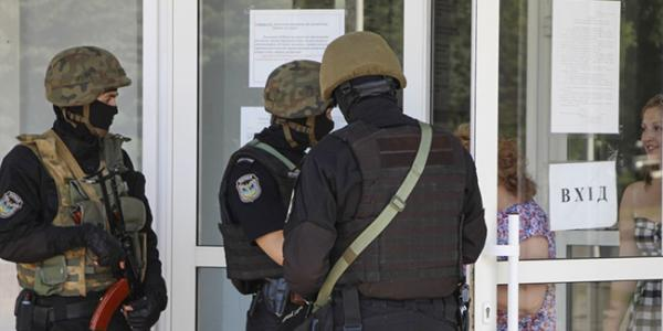 В здании горсовета Кривого Рога проводится обыск
