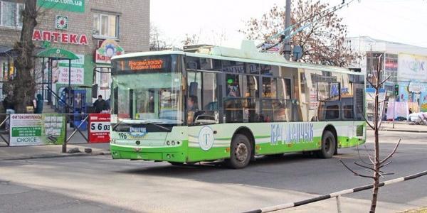 Энергетики грозят остановить троллейбусы в Кременчуге с 30 июня