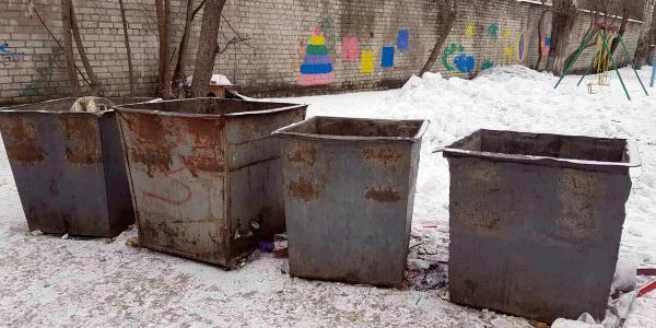 Кременчужанка требует «декоммунизировать» мусорные контейнеры