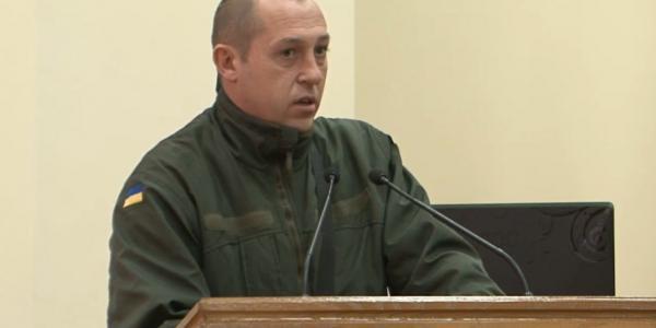 В Кременчуге участники АТО «нашли» главу муниципальной полиции