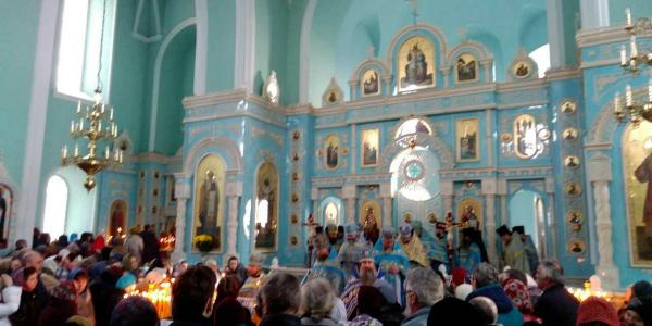В Козельщине - светлый праздник почитаемой иконы Божией Матери