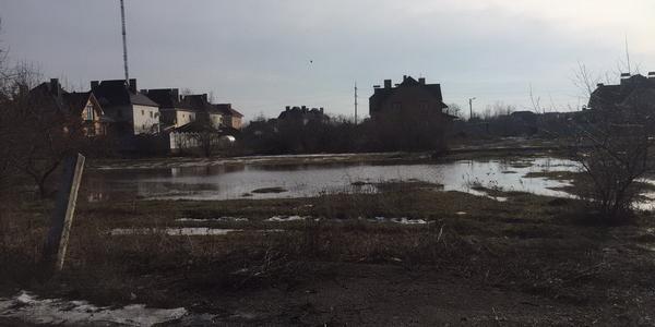 В Кременчуге – часть микрорайона Петровка заливают талые воды