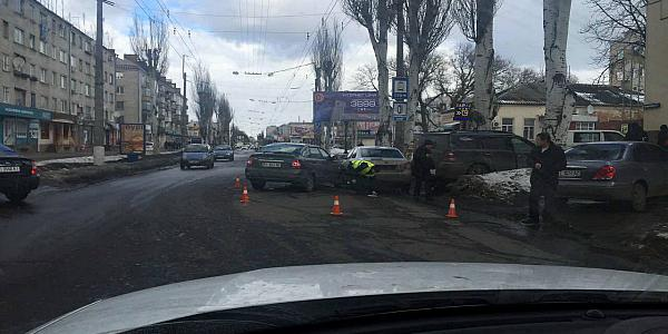На улице Первомайской – тройное ДТП