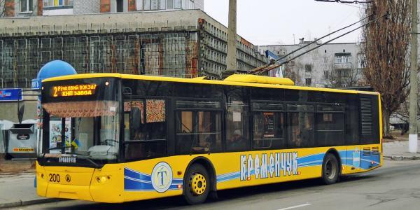 Городские власти Кременчуга обещают пока не повышать стоимость проезда в коммунальных троллейбусах