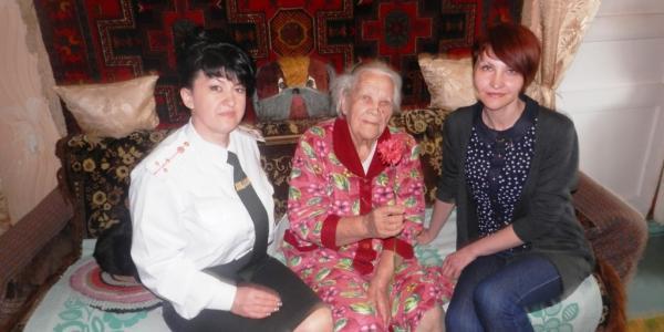 Cпівробітники Кременчуцької виховної колонії привітали ветеранів з Днем Великої Перемоги