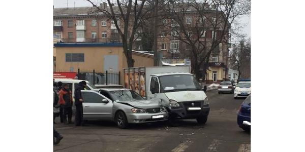 Машина вице-мэра Усановой попала в ДТП