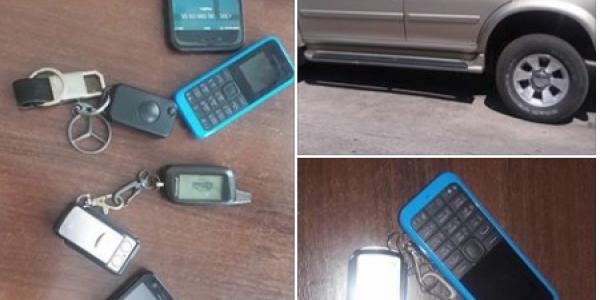 Затримано зловмисників, які обкрадали автомобілі, скануючи сигналізацію