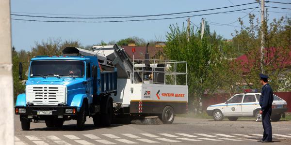 Крюковские вагоностроители ошеломили жителей Великой Багачки
