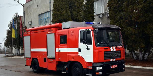 КрАЗ представил новый спецпродукт – пожарную автоцистерну