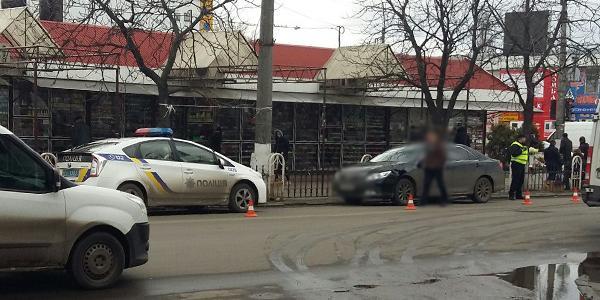 В Кременчуге Toyota сбила пешехода