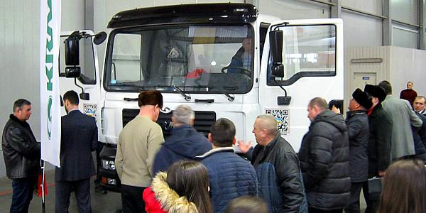 КрАЗ на международной выставке покорил аграриев