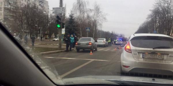 В Кременчуге ищут свидетелей вчерашнего ДТП возле остановки «Аптека»