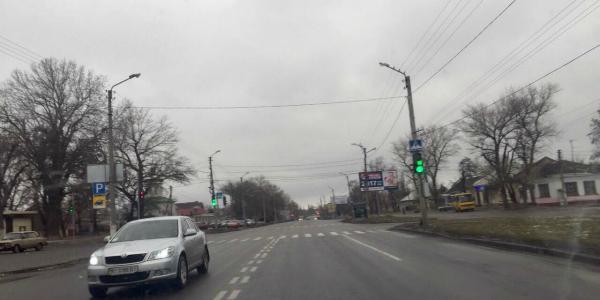 На проспекте Полтавский появился новый светофор