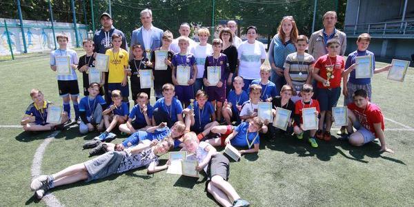 На Молодіжному пройшов турнір з міні-футболу, присвячений Міжнародному дню захисту дітей
