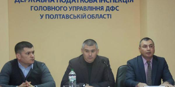 В День Святого Николая в Кременчугской налоговой появился новый босс