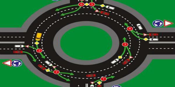 С сегодняшнего дня изменен порядок проезда перекрестков с круговым движением
