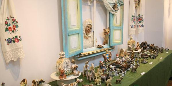 Глиняные мечты юных кременчужан в галерее Юзефович