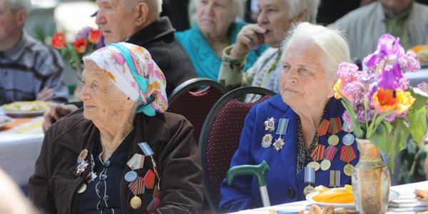 Кременчугский областной госпиталь ветеранов войны получил желанные подарки к празднику