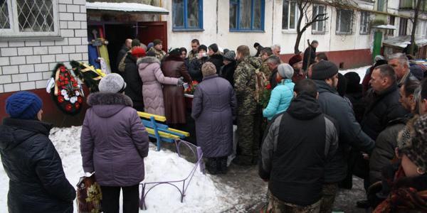 Кременчуг простился с воином-защитником Петром Боцулой, который умер в Третьей горбольнице