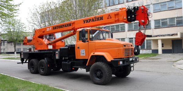 Краны на базе КрАЗа будут обслуживать украинскую ГТС