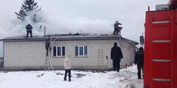 Жители села Новая Знаменка остались без крыши над головой