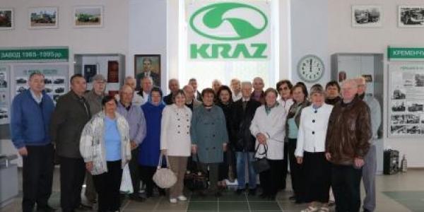 Ветерани КрАЗу повернулися на виробництво