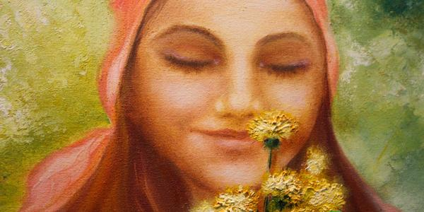 Валентина Слюсарь представила выставку картин «Любовь и море позитива»
